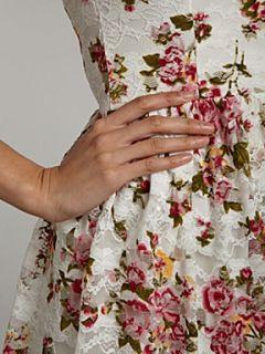 Sodamix Floral print dress Cream