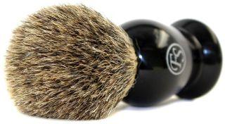 Mens Frank Shaving Gift Set Kit de Safety Razor Pure Badger Hair Brush