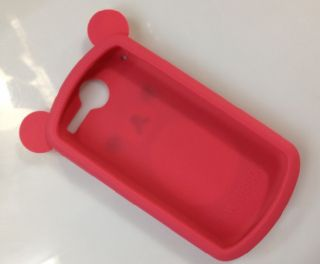 Rose Red Koko Dog Ear Back Cover Case for Huawei IDEOS x5 Impulse 4G