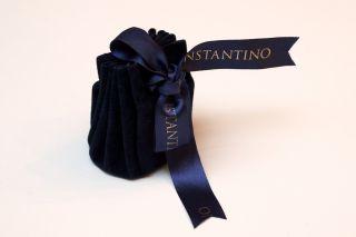 New Konstantino Mens Pegasus Ring Silver and 18K Gold Size 10 $870