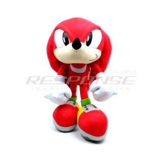 Sonic The Hedgehog Knuckles 10 Plush Doll Figure Toy Sega Official