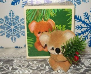 Hallmark Christmas Koala Bear 1983 Keepsake Ornaments Cute