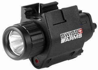 Swiss Arms Airsoft Pistol Handgun Flashlight Laser Rail Mount