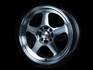 NEW KONIG MAXXIM AIR WHEELS RIMS SET 15 X 6.5 4 X 100 +38 4 LUG