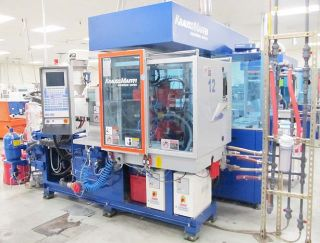 Krauss Maffei Marathon Series Injection Molding Machine CD Line Liner