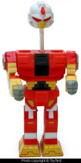 Boxing Robot Head Pops Up Lever Controlled Arms Leader Toy 1994