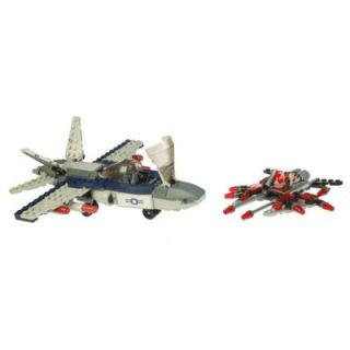 Kre O 225 Pieces Kreo Kreon Figure Air Assault Jet Figure Alien