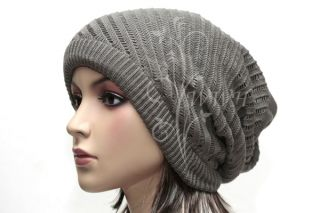 Stylish Reverse Knit Beanie Hat Winter Cap BE334G