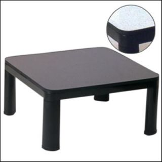 Japenese Low Style 2 and Kotatsu Heater Black White Top Table