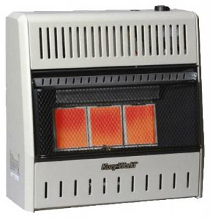 BTU Natural Gas Vent Free Wall Heater w Thermost 013204201951