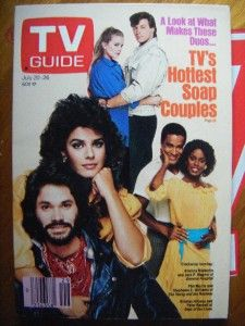 TV Guide July 1985 Soap Operas Kristian Alfonso Days
