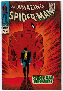 Amazing Spider Man 50 3 5 Off White Pages Silver Age 1st Kingpin