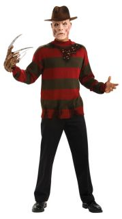 Rubies Freddy Krueger Deluxe Sweater Nightmare on Elm Street Dlx
