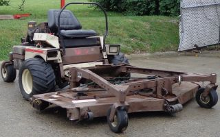 Used 72 Grasshopper Kubota Diesel Engine Zero Turn Lawn Mower