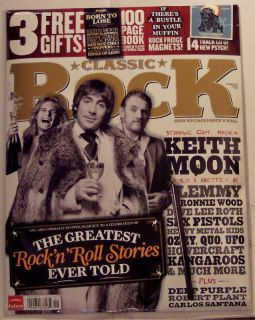 Classic Rock CD Keith Moon Deep Purple Ozzy Osbourne 3 Free Gifts Ron