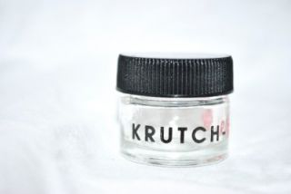 Krutch Rx (1) mini glass extract jar 420 toro illadelph bho wax dab