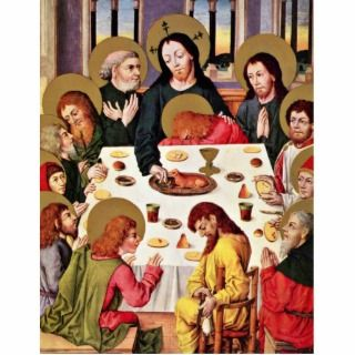 The LordS Supper By Meister Des Hausbuches (Best Photo Cut Out
