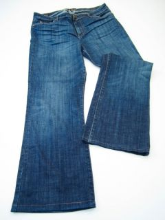 Kut from The Kloth Womens Size 12 Inseam 29 Blue Jeans Boot Cut