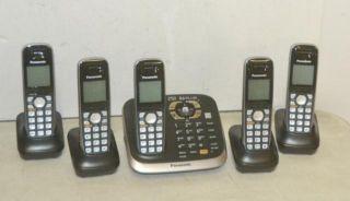 DECT 6 0 5 Handset Cordless Telephone System KX TG6545B