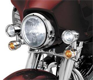 Kuryakyn Driving Lights Halogen Harley Davidson FLHTC 1997 2009