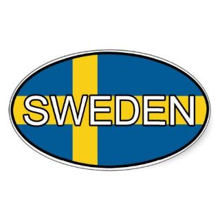Sweden Euro Sticker