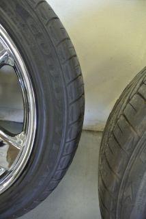 BENZ SL65 AMG WHEELS TIRES + CHROME WHEELS 18 05 10 SL S E CLASS