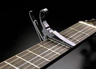Kyser KGCB Quick Change Clamp on Classical Flamenco Nylon Guitar Capo