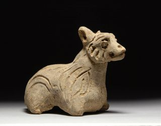 Ancient Chinese Tang Yuan Dynasty Zodiac Animal Sheep Goat Figure 1300
