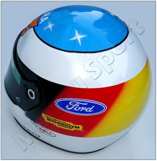 Michael Schumacher 1992 Ford Replica Helmet Scale 1 1