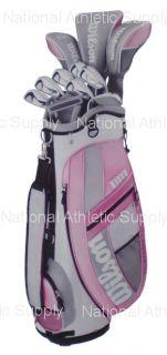 Wilson Hope Platinum Womens Golf Club Set Bag New RH