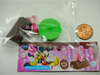 16 Furuta Choco Egg Disney Character Vol 2 Miniature Figure Piglet