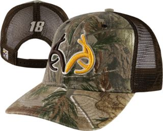 Kyle Busch 18 Realtree AP Camo Trucker Mesh Adjustable Hat