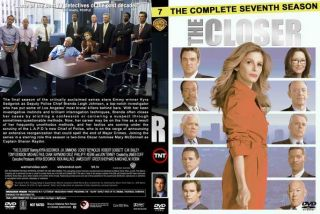 DVD   THE CLOSER  THE COMPLETE SEVENTH SEASON * S7 * BRAND NEW