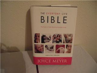 Signed by John Maxwell Everyday Life Bible Everyday Living Joyce Meyer