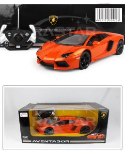 14 White Lamborghini Aventador LP700 Controlled RC RTR Racing Car