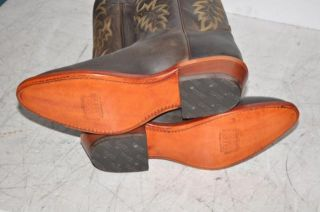 Tony Lama Boots 7902 Bay Apache Mens Brown American Western Boots
