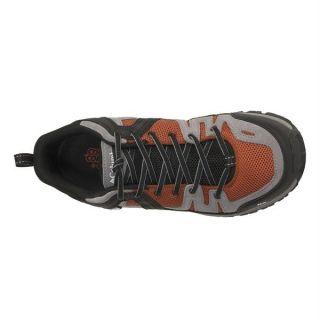Columbia Mens footwear Shastalavista Trail Shoes Burnt Orange Brown
