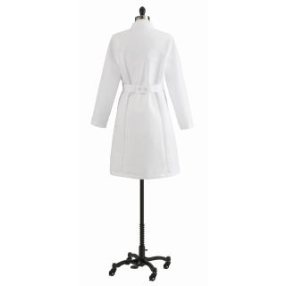Medline Full Length Womens Lab Coat Small MDT13WHT1E