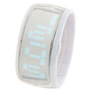 DIGITAL LED LIGHT UNISEX BANGLE WRIST BAND WOMEN/MEN/BOY/GIRL WATCH