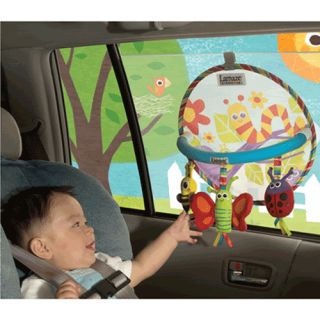 lamaze Ride and Play Fun Baby Car Shade Activity Toy