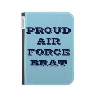 Kindle Case Proud Air Force Brat