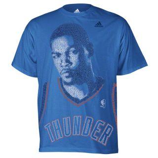 Oklahoma City Thunder Kevin Durant Blue Perfect Tornado T Shirt