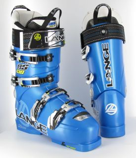 Lange RS 130 Speed Blue 2011 Ski Boots 27 5