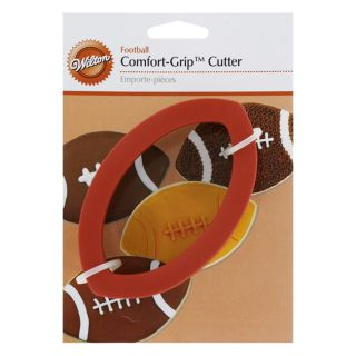 Wilton Football Comfort Grip Cookie Cutters
