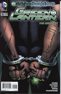 Green Lantern 15 DC Comics 2011 New 52 Rise