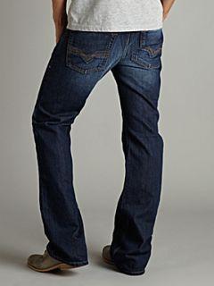 Diesel Zatiny 8J4 Dark Wash Bootcut Jeans Denim Dark Indigo