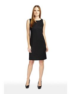 Planet Black linen shift dress Black