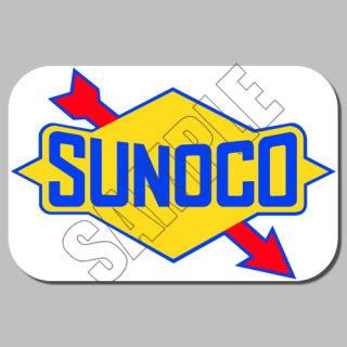 Sunoco Decal Stickers Its A Gas Logo Ad 260 Power