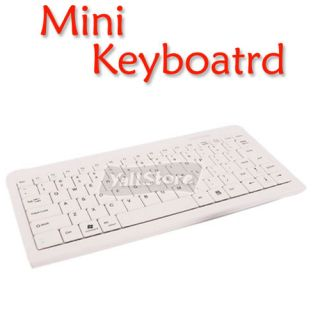 wireless Bluetooth Keyboard White For PC Laptop/Notebook Computer
