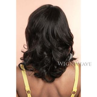 Genuine 100 Human Hair Wig Stunningly Built with Curls Extravagant